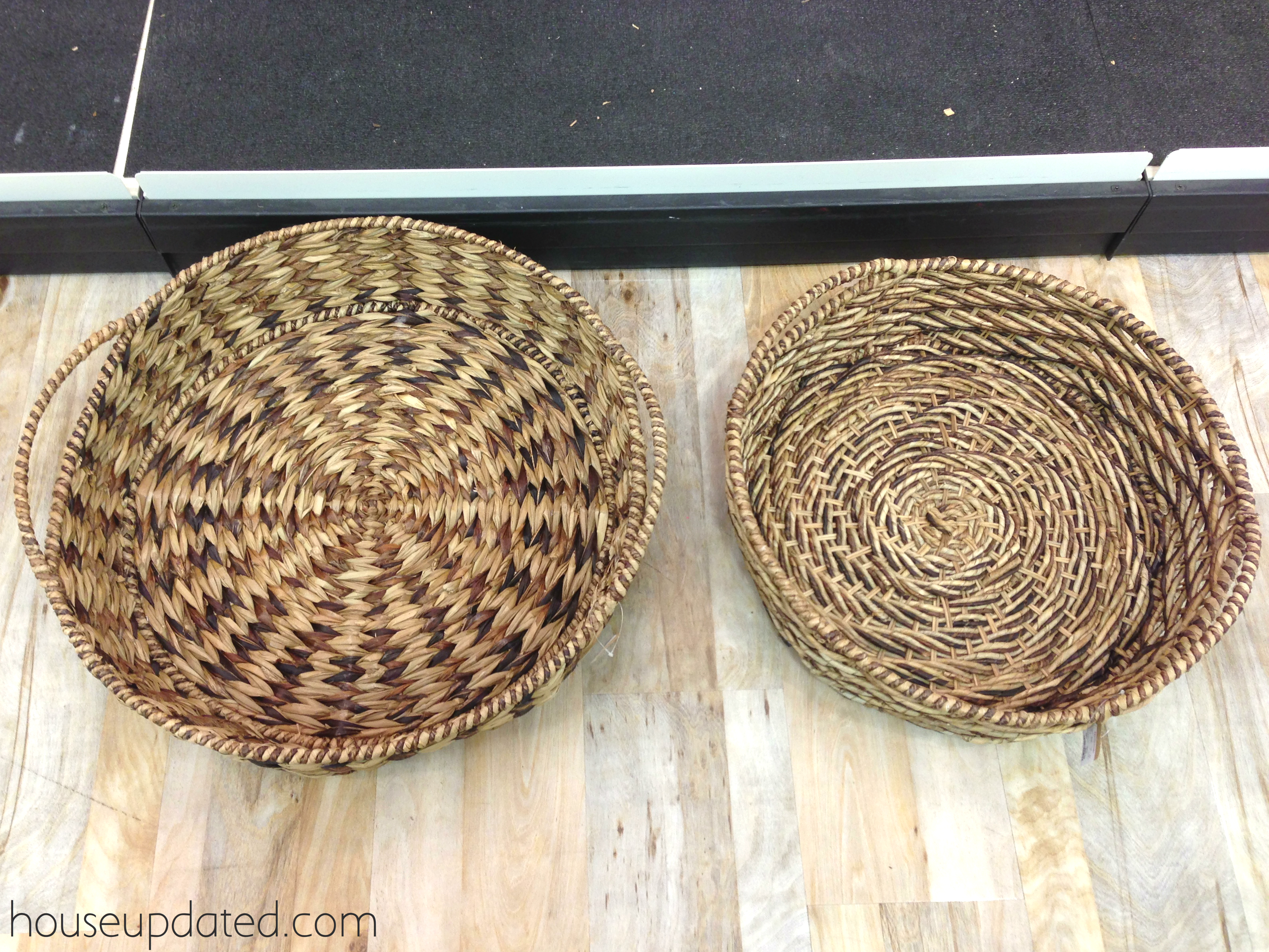 basket2 & The Story of a Large Shallow Basket - House Updated