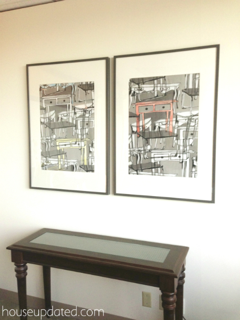 Ikea Art for the Office - House Updated