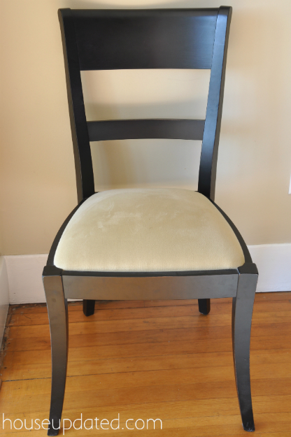 reupholster dining room chair