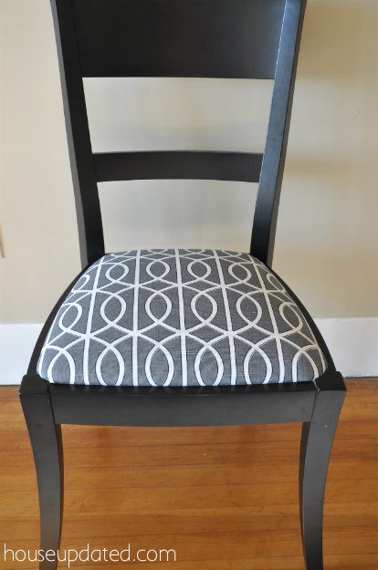 Recovering Dining Chairs (Dwell Studio Bella Porte ...