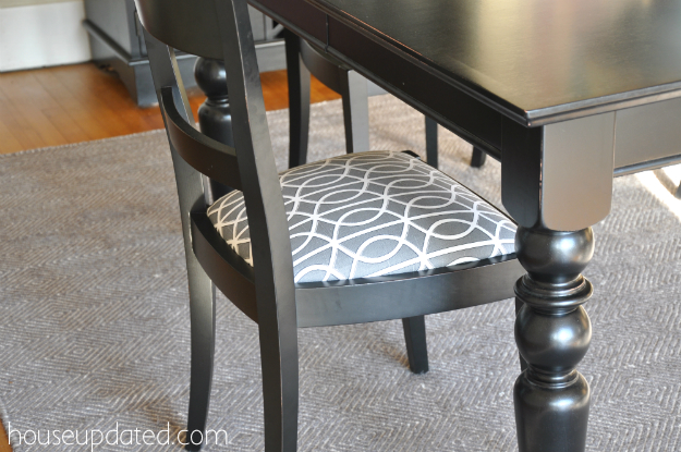 recover dining chair 7 - How To Recover Dining Room Chairs