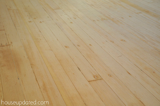 sanded fir floors2