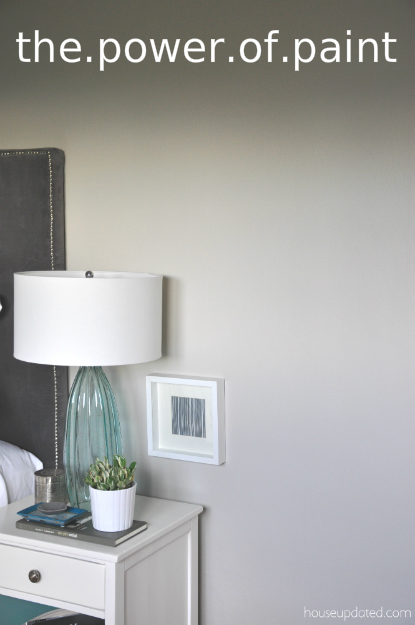 Guest Bedroom:  The Power of Paint