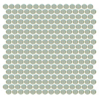penny round tile moss gray