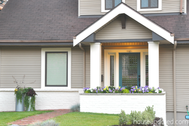 house exterior tan cream trim wider