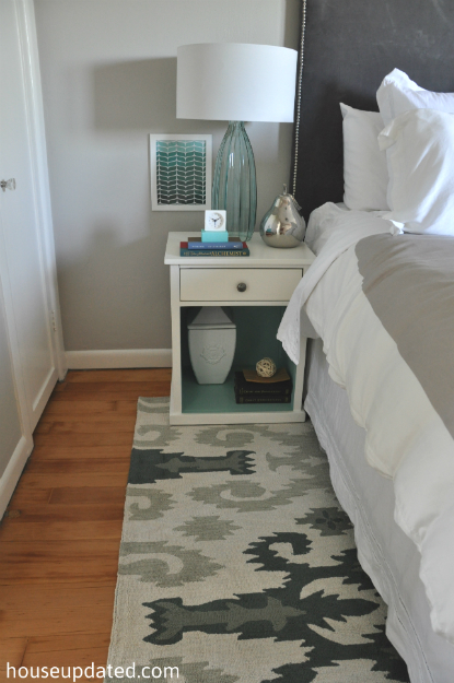 Guest Bedroom Ikat Rug