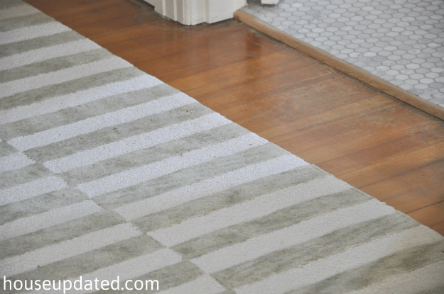 gray white striped rug 2