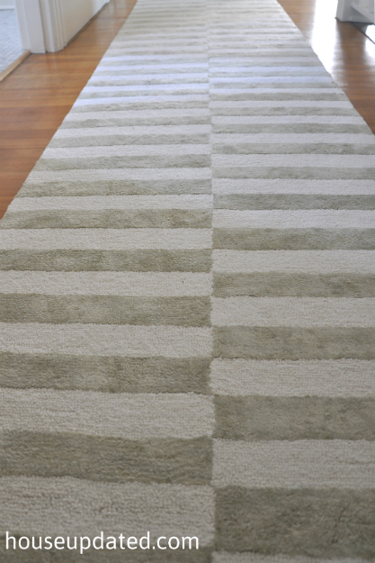 white and gray rugs gray and white striped rug house updated