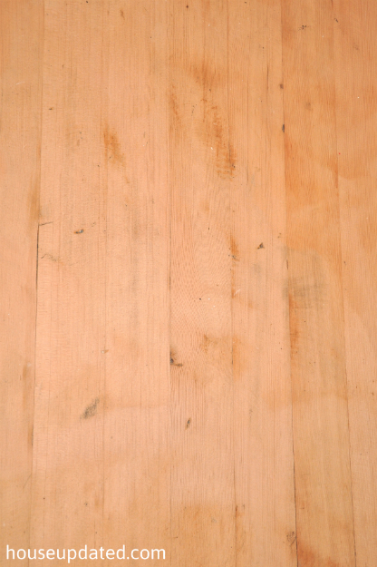 sanded hardwood floors bare wood