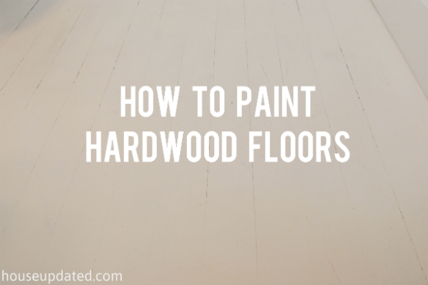 How to Paint Hardwood Floors