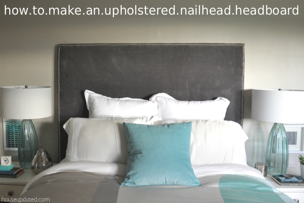 How to make a nailhead upholstered headboard house updated how to make a nailhead upholstered headboard solutioingenieria
