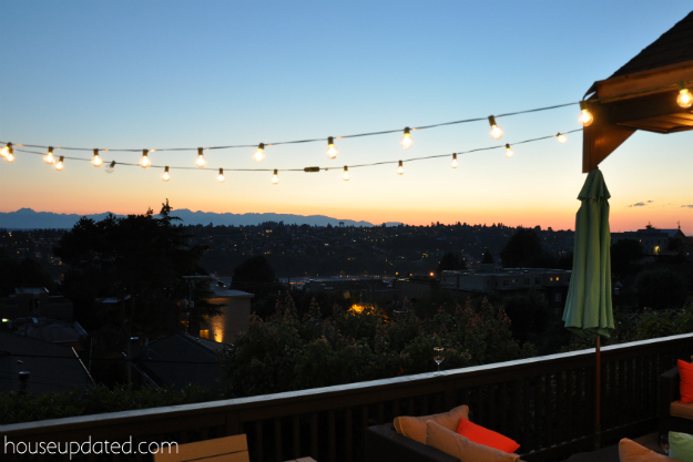 outdoor string lights 5 diy posts for hanging outdoor string lights house updated  at bayanpartner.co