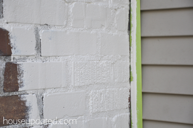 How to Paint Brick and How to Paint Metal Window Trim - House Exterior