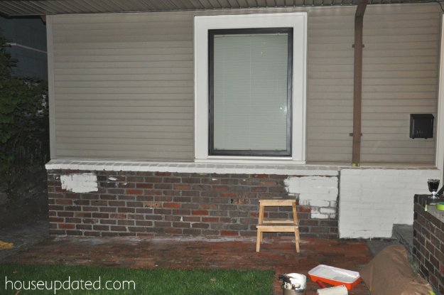 Exterior Window Trim Brick how to paint brick and how to paint metal window trim - house exterior