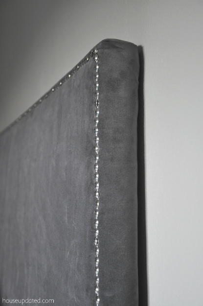 upholstered headboard close-up 3