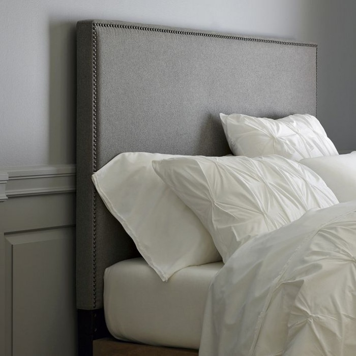 west elm tall nailhead upholstered headboard