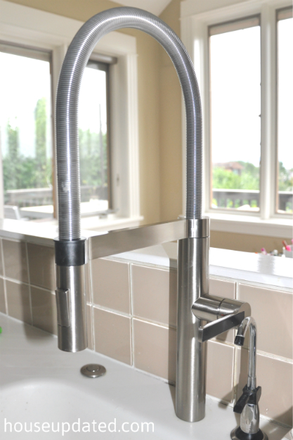 Our Most Awesomest New Kitchen Faucet Ever