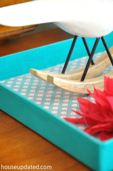 DIY duct tape tray 1