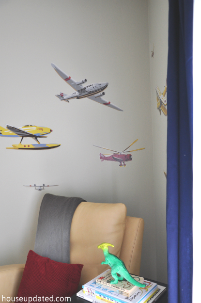 big boy kid room airplane decals