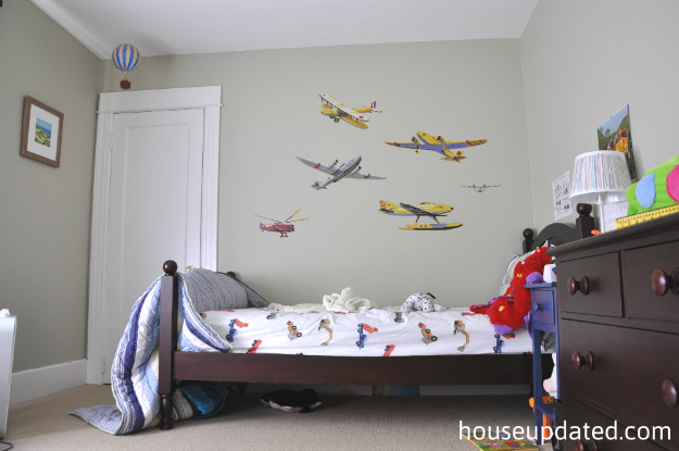 Big Kid Boy Room Maps Airplanes And More House Updated - Boys room with maps