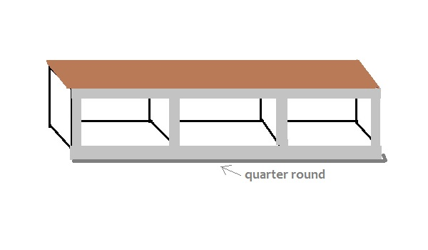 entry bench drawing 7