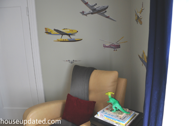 kid bedroom airplane decals