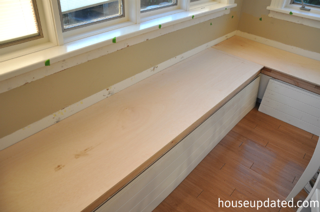 plywood bench tops