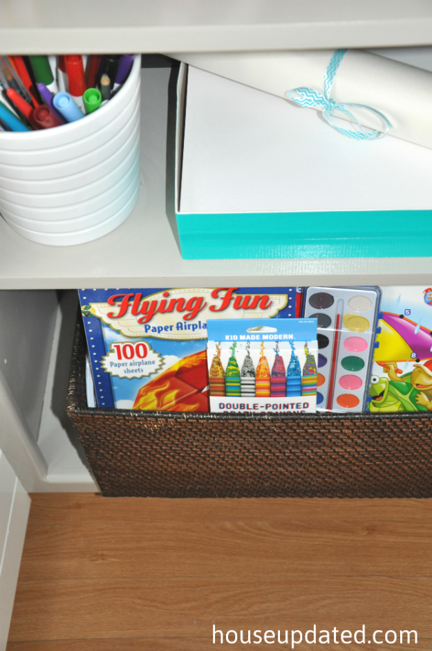 kid coloring bookshelves