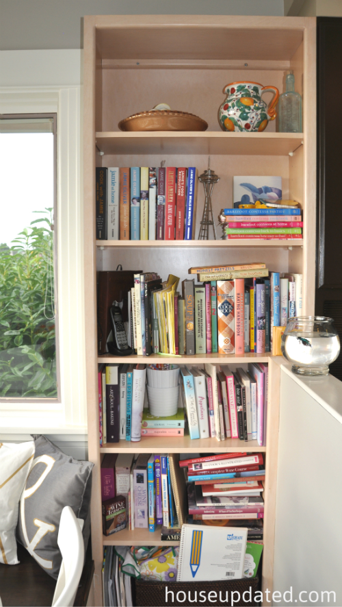 kitchen bookcase before 1