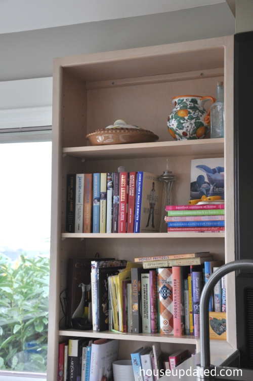 kitchen bookcase before 2