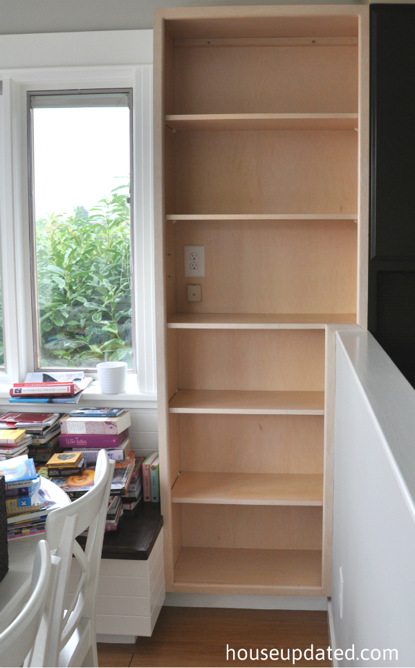 kitchen bookcase before 3