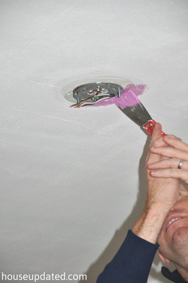 spackling ceiling fixture