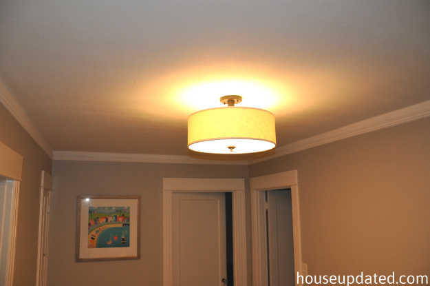 upstairs hallway light fixture