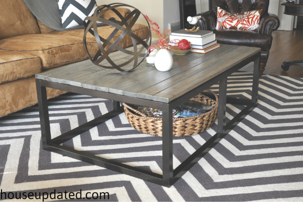 DIY Industrial Coffee Table ...