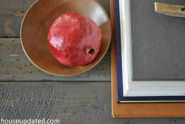 close-up DIY reclaimed wood table