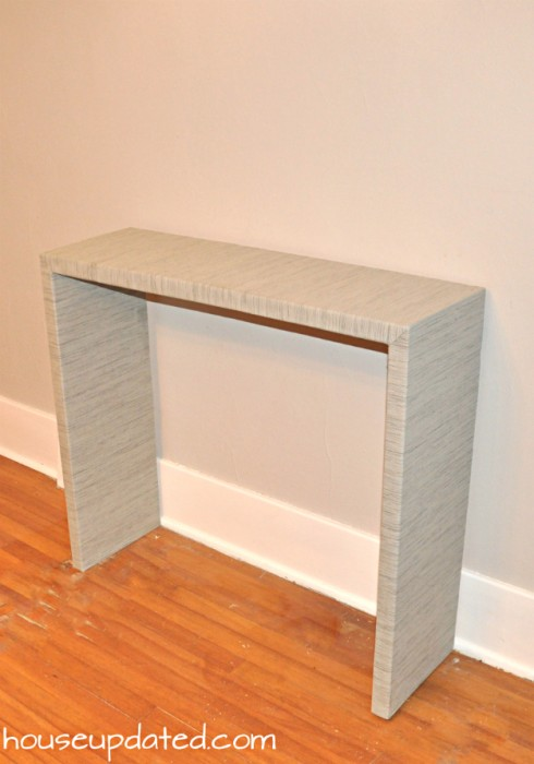 Diy Console Table Parsons Style House Updated