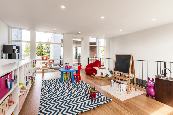 playroom open floor space