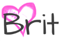 signature Brit pink heart