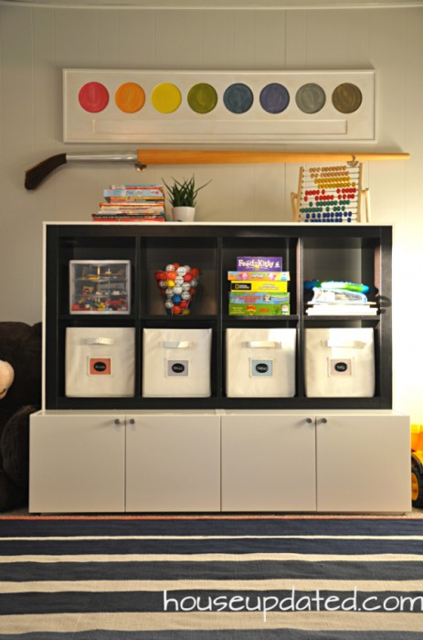 Diy Playroom Storage House Updated