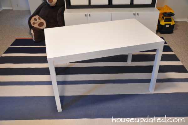 ikea hack DIY kid table