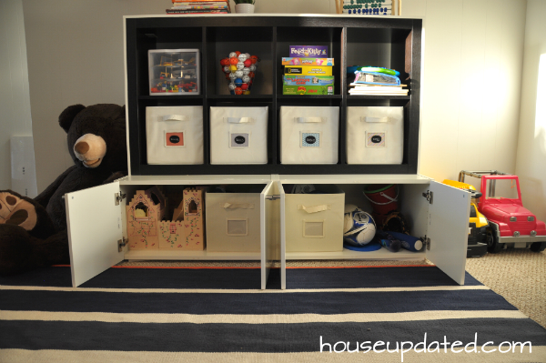ikea hack cabinet expedit large kid storage