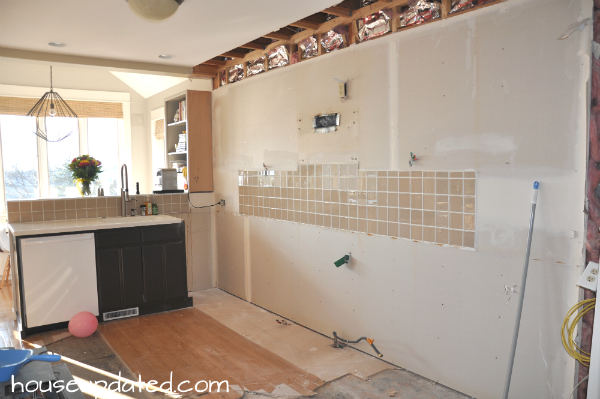 Kitchen Remodel: Removing Cabinets and Soffits and Floors and More ...