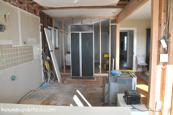 Kitchen Remodel:  Removing Cabinets and Soffits and Floors and More