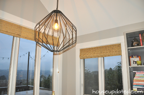 new breakfast nook light crate barrel union pendant
