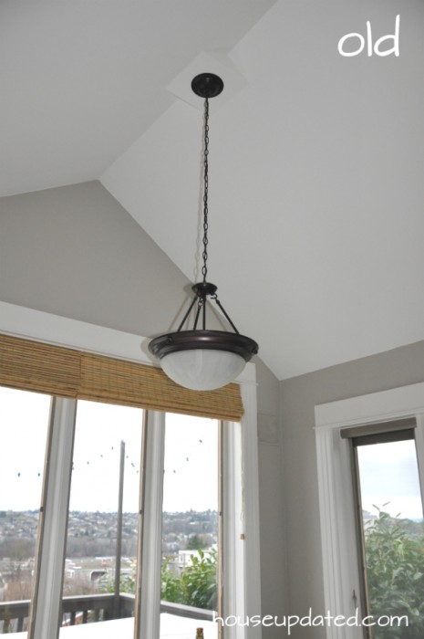 old breakfast nook pendant