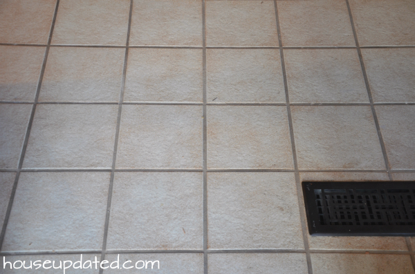 old tile flooring