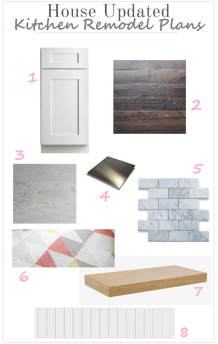 Kitchen Remodel Plans + Mood Board
