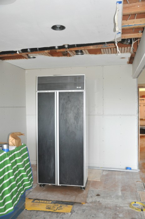 sheetrock walls kitchen
