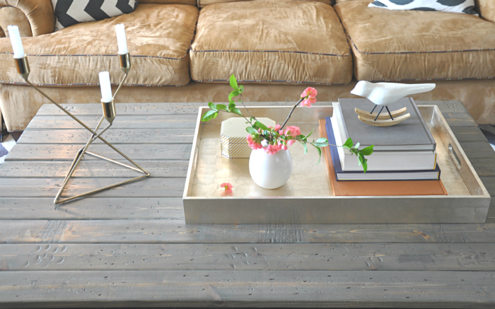 Spring Coffee Table Styling