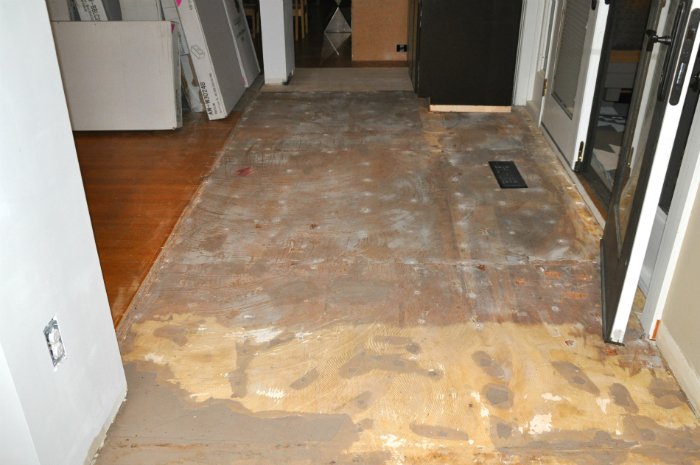 Plywood Floor Patch